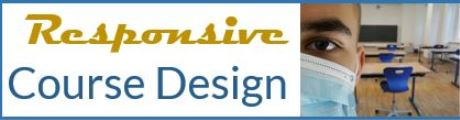 Responsive Course Design Banner generic